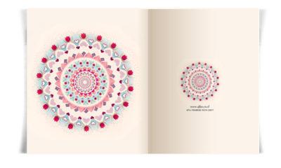 עיצובים של כרטיסי ברכה - מנדלות