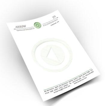 תמונה של הדפסת ניר מכתבים צבעוני 4