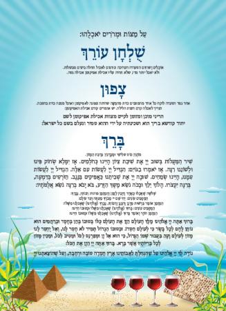 הגדה תכלת - עמוד 11
